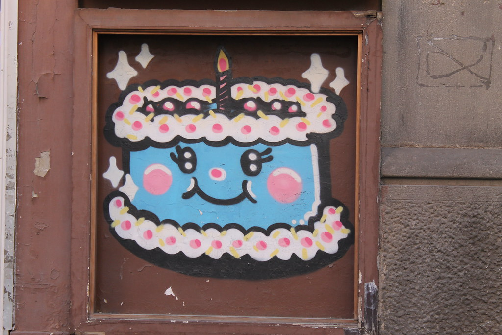 pastel cumpleaños feliz barcelona