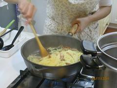 培根蛋汁義大利麵