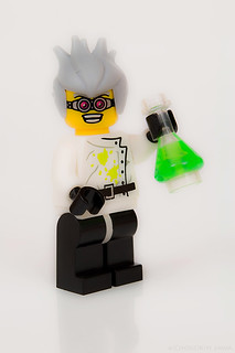 LEGO minifigures - Crazy Scientist (Series 4)