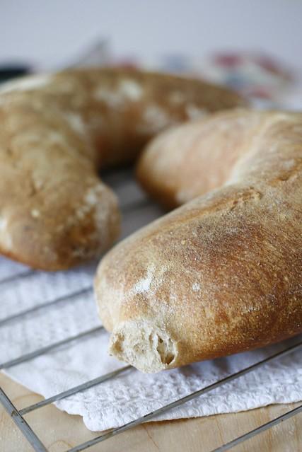 Pane al farro con lievito naturale
