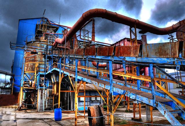 Parque minero de Almadén/Mining park of Almaden (Spain)