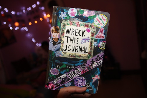 my Wreck This Journal cover :) ya like it?