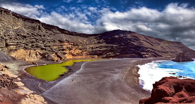 0277 - Spain, Lanzarote, El Golfo HDR