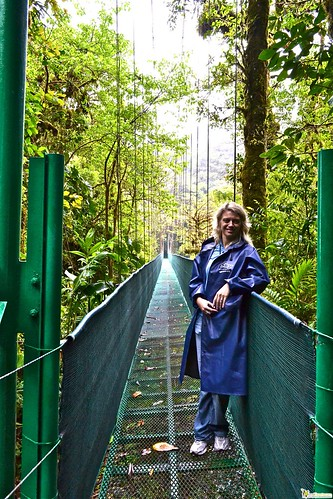 hanging bridges of costa rica cloud forest