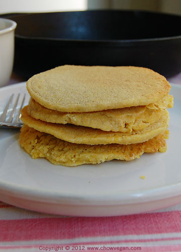 Rustic Johnny Cakes