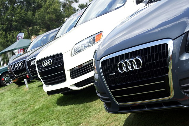 Audi Car Show at Schenley Park