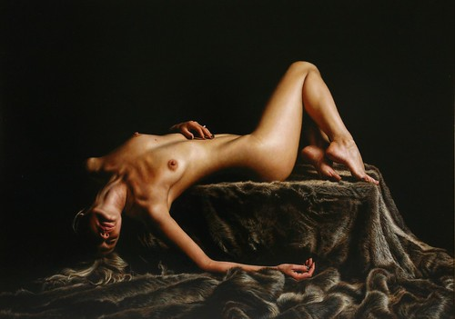 "'Passion' oil on board 28"" x 39½"""