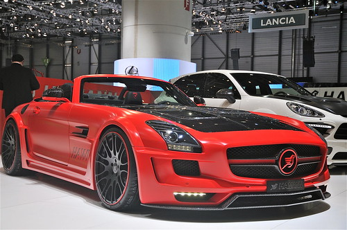 SLS AMG Hawk Roadster by Hamann