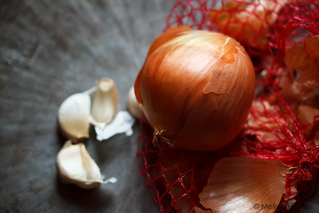 You know if it starts with onions and garlic it's gonna be good!
