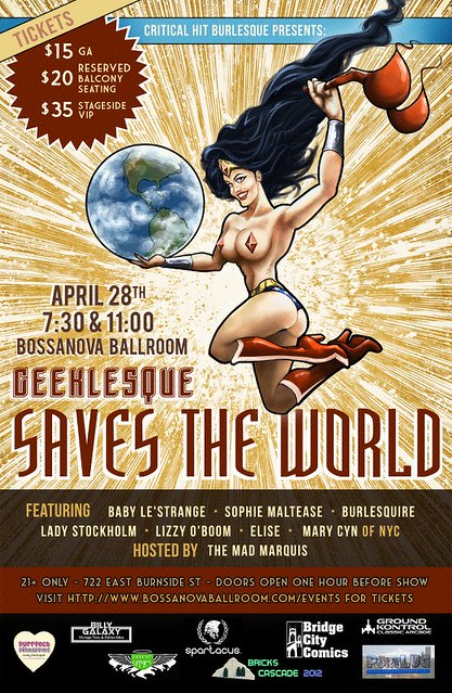 Geeklesque Saves The World @ Bossanova Ballroom