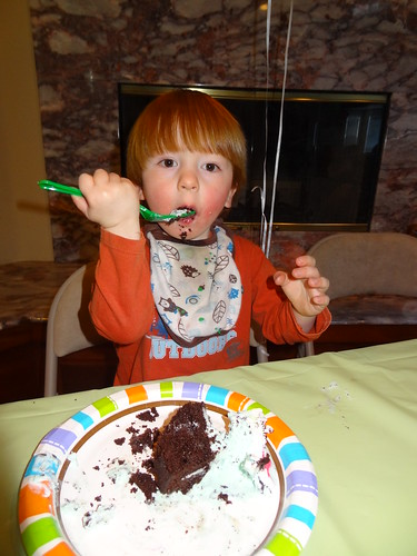 Archie Eats a Piece of Cake