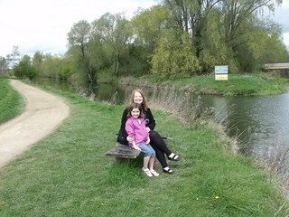 By the river Nene