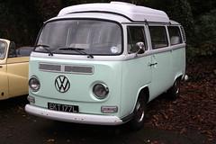 Brooklands New Year's Day Meet 2012 - 1973 VW Kombi (EKT 177L)