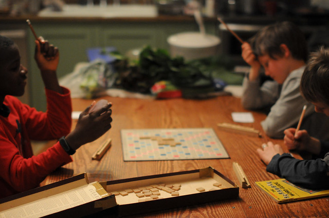 Grandmother's Scrabble
