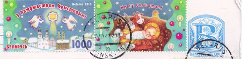 Belarus Christmas Stamps