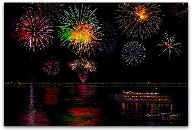 Fireworks at Lake George NY