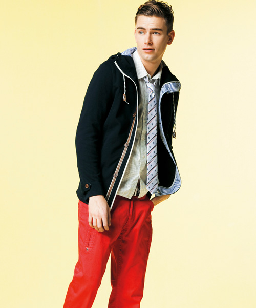 Colin Dack0078_m.f.editorial Men's spring Collection 2012