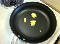 Butter in a Non-stick Pan