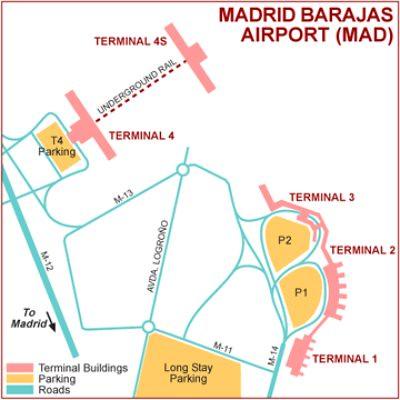Madrid Barajas Airport Map Terminals 1 2 3 4 Flickr Photo Sharing