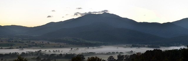 Mount Bogong (taken from across the Kiewa Valley)
