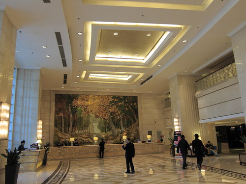 Lobby at Crowne Plaza Parkview Beijing