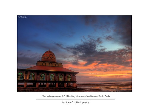 """The rushing moment..."" 
