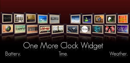 [Widget] One More Clock Widget 1.4.1 Zegar
