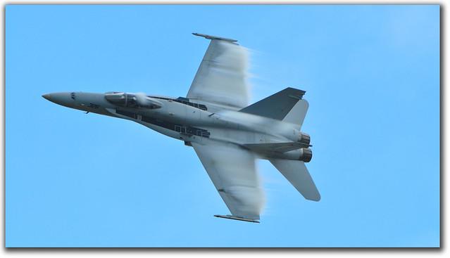 F/A-18 Hornet fast pass
