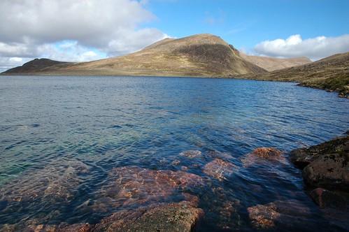 Beinn Mheadhoin across Loch Etchachan