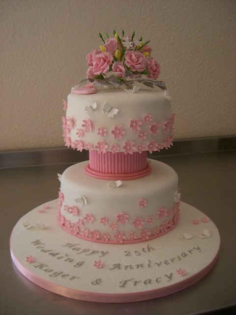 Pictures of 25Th Anniversary Cakes http://www.flickr.com/photos/tastebudscakes/7031495431/
