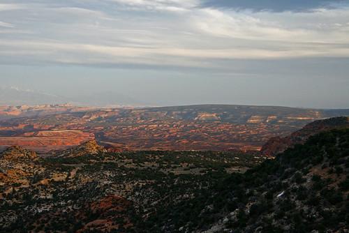 sunset 15fav usa utah sandstone desert highdesert waynecounty greatwesterntrail 100vistas instantfave ashotadayorso orig:file=20120327eos30d176191000