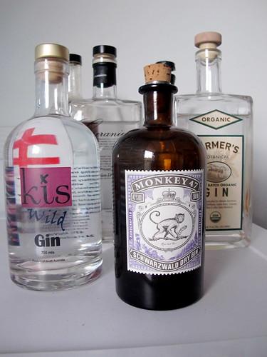 Mass gin tasting