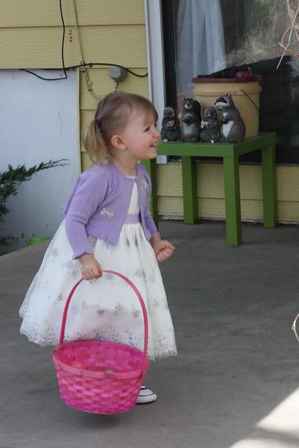 Cordelia with basket