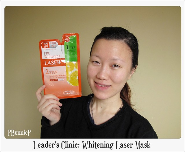 Leader's Clinic Whitening Laser Mask 01