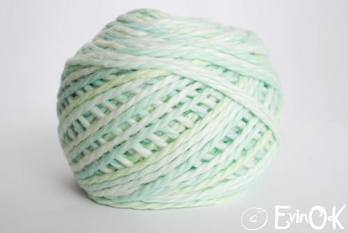 Blue Sky Alpacas Multi Cotton in Spearmint from Knit + Stitch = Bliss in Bethesda, MD
