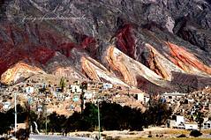 cerro de los siete colores!. seven colors  mountain
