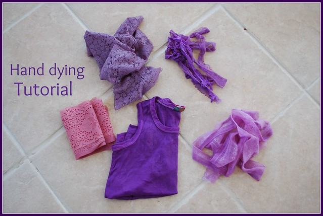 hand dying tutorial