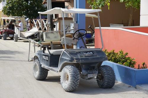 Belize: police car // Polizeiauto