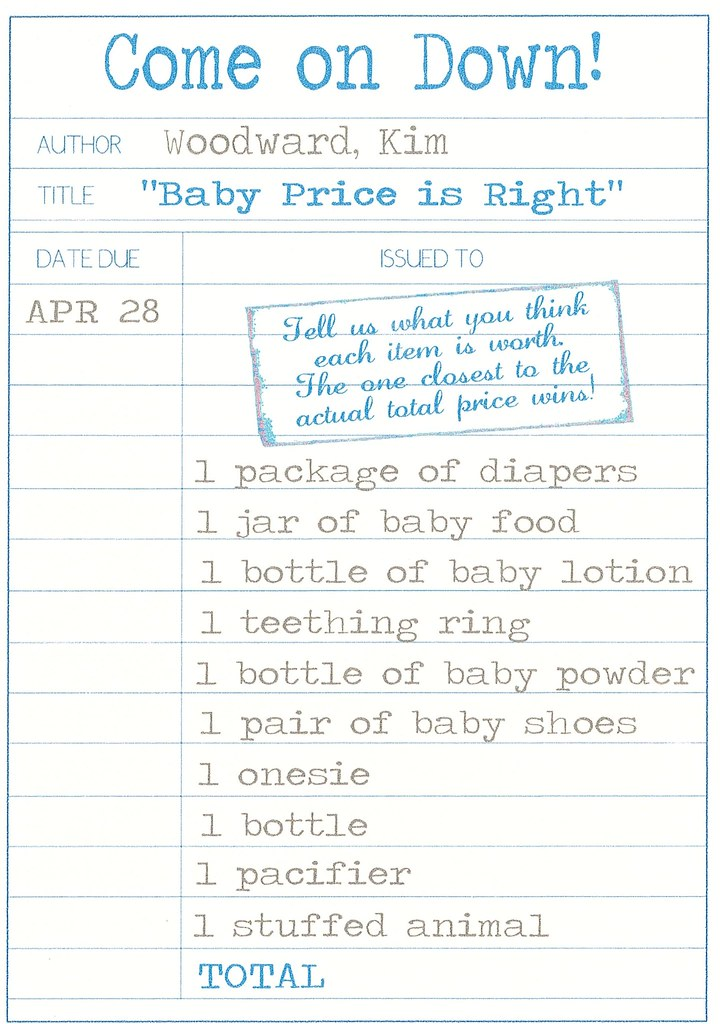 A Book Themed Baby Shower Newlywoodwards
