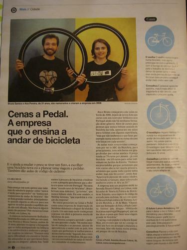 """""""Cenas a Pedal. A empresa que o ensina a andar de bicicleta"""""""