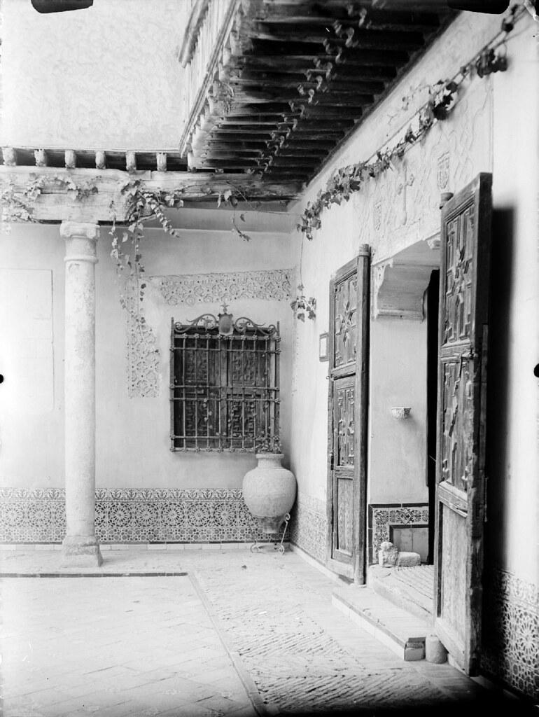 Museo del Greco en los años 20. Detalle de una Fotografía de Otto Wünderlich. © Fototeca del Patrimonio Histórico