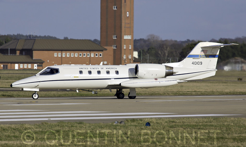 USAF Learjet C-21A 84-0109