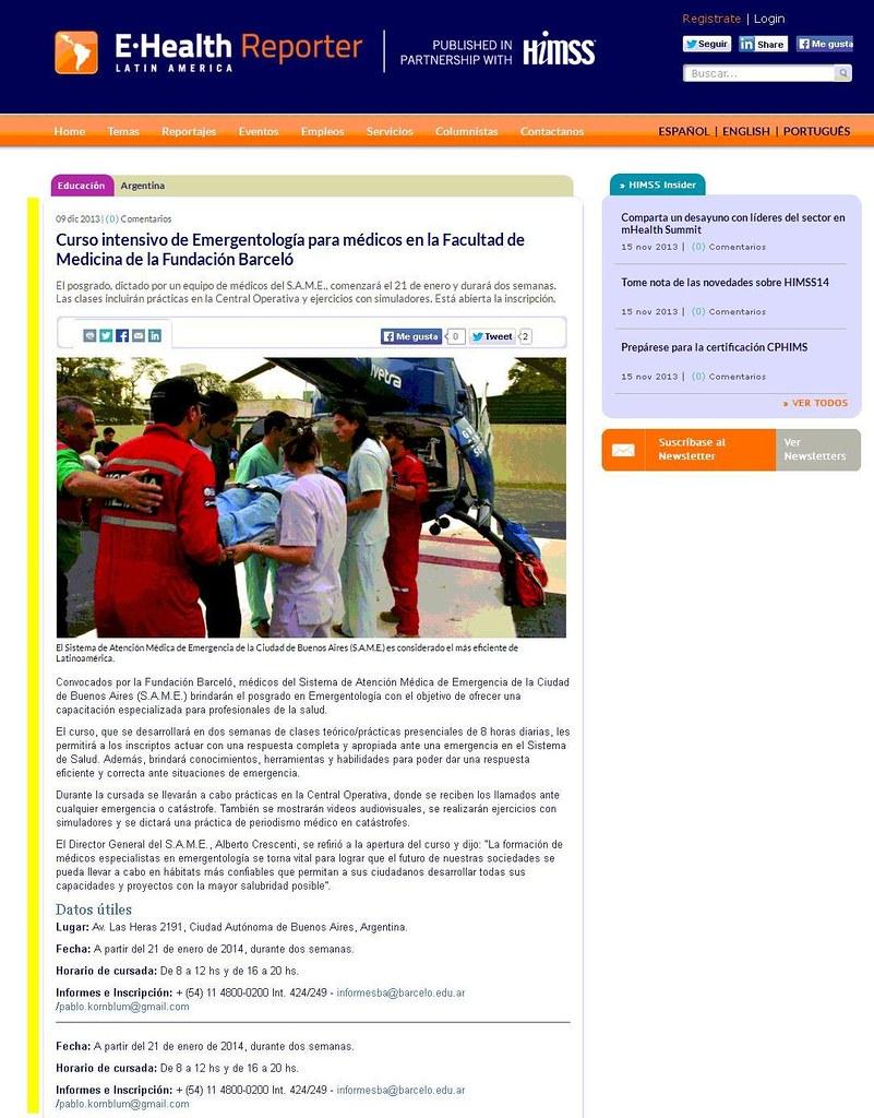 Site E-Health Reporter 09-12-13 (nota)
