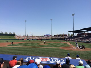 Cubs vs. White Sox @ Cubs Park in Mesa, AZ
