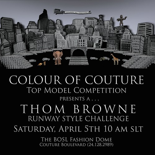 COC THOM BROWNE Invitation