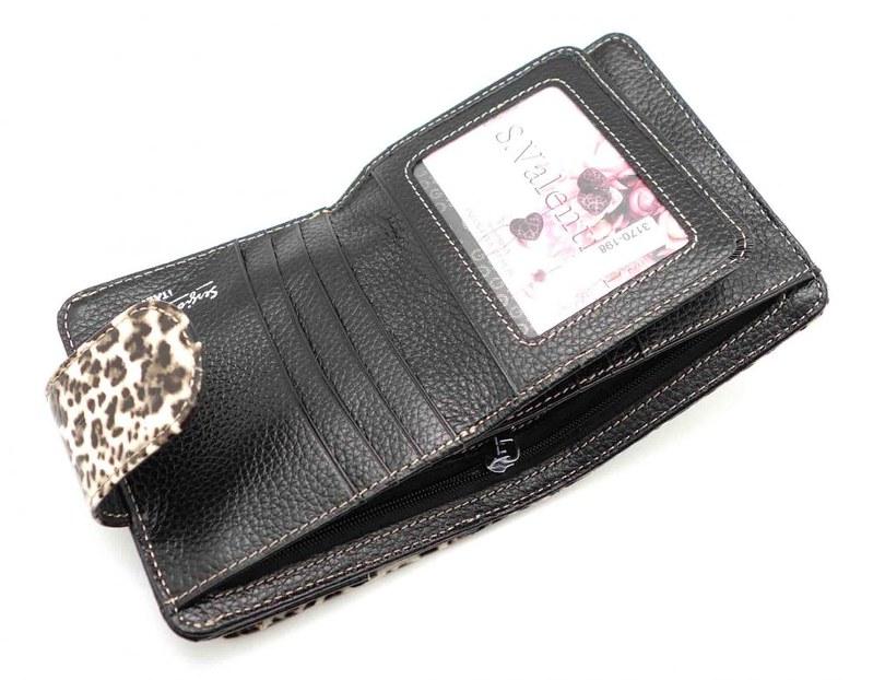 Женские кожаные кошельки и портмоне, коллекция СВ 3170