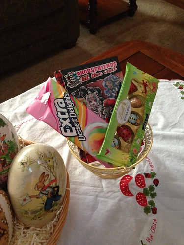 Easter basket as kids get older