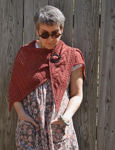 Notch Shawl, by Bonnie Sennott