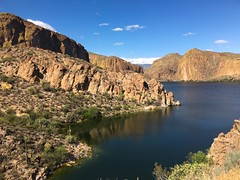 Canyon Lake (another Salt River dam project)