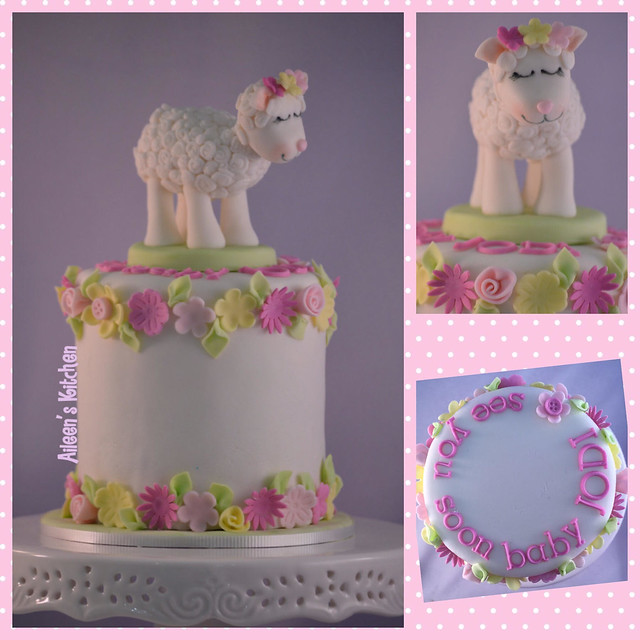 Baby Shower Cake by Aileen Hernandez of Aileens Kitchen